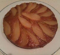 Pear & Maple Upside-Down Cake