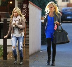 Ashley Tisdale- love her outfits