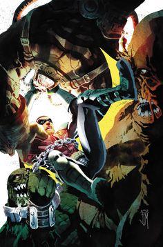 Was batgirl cali logan superheroine in peril for