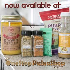 Did you see our news from today?! Our FULL LINE of spices are now available online at @onestoppaleoshop - which means you can order all your favorite Paleo foods and add #primalpalatespices to your order!! YAY!! As a reminder: we're hosting a GIVEAWAY for three copies of Make It Paleo 2 in celebration. View our previous post to enter!