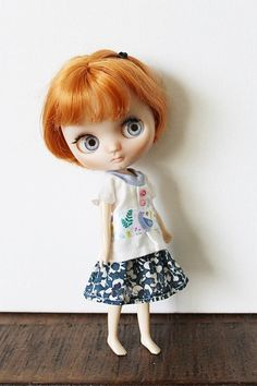Middie Blythe Doll Outfit / Top And Skirt In Set / OOAK Doll Clothes#middieblythe#blythe