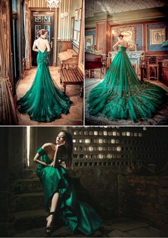 8 Hot Color Trends for Wedding Reception Dresses!
