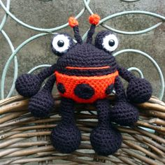 Bumble Bee Lady Bug and Butter Fly Amigurumi by mojimojidesign, $4.20
