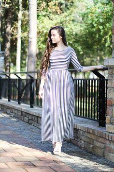 Kacie Striped Dress