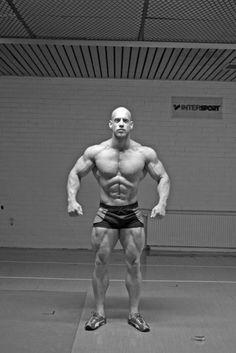 Bodybuilder Christopher Nober