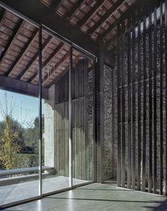 RCR Arquitects - Row house renovation, Olot 2012. Via, photos (C)  Hisao Suzuki.