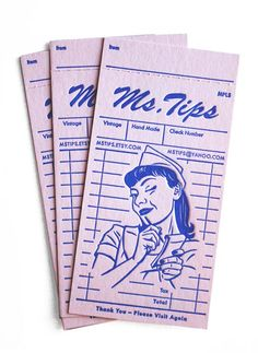 Ms. Tips Vintage 30 Vintage Business Card Designs