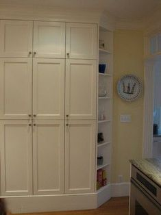 Shallow Pantry Design Ideas, Pictures, Remodel, and Decor