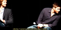 A little boy asked Jared a question; his reaction is priceless! *click for gifs*