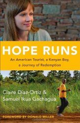 I went to Kenya in June, and I wanted to read an inspiring book about the country before I went. I'd met Claire Diaz-Ortiz at a blogger conference, and I was excited about this book. I wasn't disappointed! The story of Claire and Samuel's relationship was beautiful. This book showed me again what a difference once person can make in the life of orphans!
