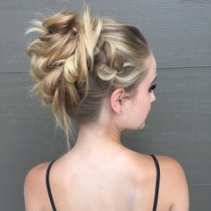 Braided+Blonde+Updo