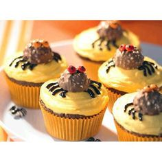 Scary chocolate cupcakes recipe - By Australian Table