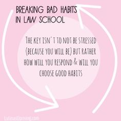 Responding to stress in law school to help create good study habits. : Responding to stress in law school to help create good study habits. Law School Quotes, Law School Humor, Law Quotes, Law Student Quotes, Good Study Habits, School Stress, College Problems, Student Info, School Study Tips