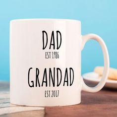 Personalised Mug - Dad & Grandad | GettingPersonal.co.uk