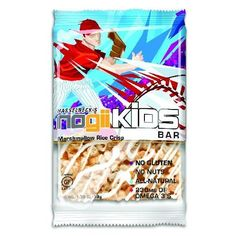 NoGii Kids Marshmallow Rice Crisp Bar Available in Jugs or single size.
