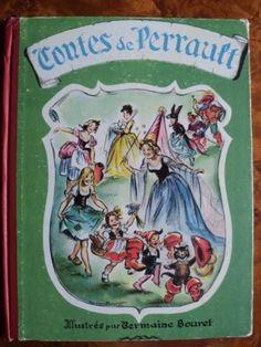 CONTES-DE-PERRAULT-II-Germaine-Bouret-annees-50-RARE