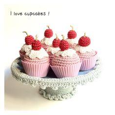 Cupcakes Crochet