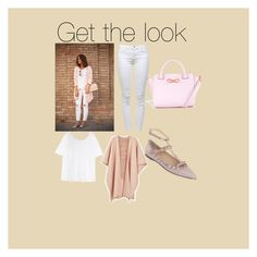 A fashion look from September 2015 featuring white tee, Ryan Roche and white ripped jeans. Browse and shop related looks. White Ripped Jeans, White Tees, J Brand, Get The Look, Acne Studios, Ted Baker, Valentino, Fashion Looks, Polyvore