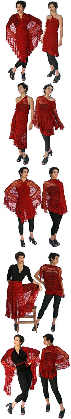 Andalusia from stitch diva studios.  Go to the website and check out the video of all the ways you can wear this scarfy thing!