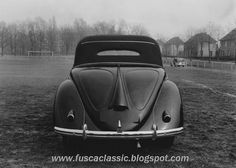 OG | 1949 Volkswagen / VW Hebmüller Typ14A | Prototype no.1 based on Radclyffe modified convertible Beetle, dated Dec. 1948