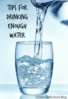 Tips for drinking enough water, part of the 31 days to a Healthier New Year series. Healthy Kids, Healthy Drinks, How To Stay Healthy, Healthy Living, Human Nutrition, Nutrition And Dietetics, Fat Loss Supplements, Forever Living Products, Health And Wellbeing