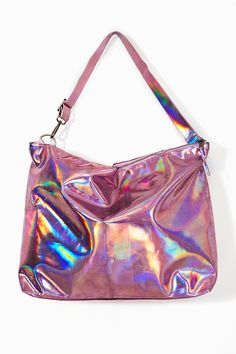 Hologram Swing Bag - Pink in Accessories at Nasty Gal  So awesomely trashy!! Too bad it's $80