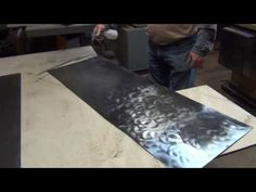 Simple Patina on Metal with Amazing Results - YouTube