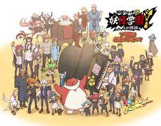 Youkai Watch, Digimon, Pokemon, Twitter, Gundam, Cartoons, Youtube, Character Art, Gera
