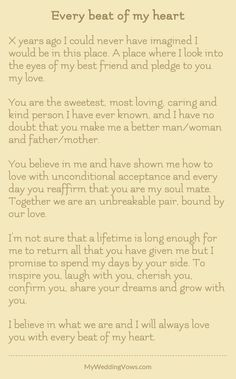 personalized wedding vows best photos - wedding vows - cuteweddingideas.com