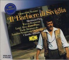 Rossini, Gioacchino. Il Barbiere di Siviglia. Hamburgo: Deutsche Grammophon, 1972