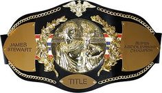 Belts and Sashes 73981: Title Boxing Leather Championship Title Belt Mma Kickboxing Wrestling Award -> BUY IT NOW ONLY: $199.95 on eBay!