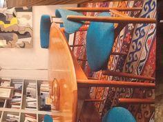 [sillas sala reuniones abierta Patty (4)  turquesas ] Customized bw