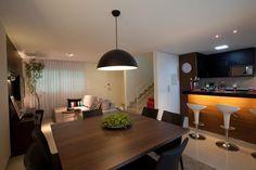 lareira elétrica na sala jantar - Pesquisa Google