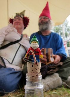 LEGO Collectible Minifigures Series 4 : Lawn Gnome @ Faerieworlds