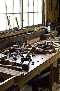 Wood Work table      Lloyd Heath Photo