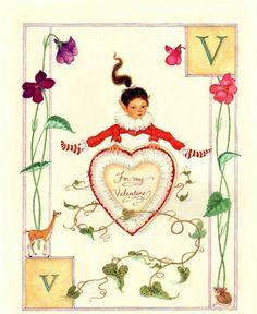 children book illustration,Lauren Mills Elfabet,illustration art, graphics