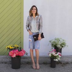 My Urban Flower Stand | Must Try Spring Double-Denim | Front Roe by Louise Roe