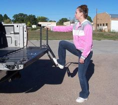 side steps for trucks | Step Gate tailgate step - the easy way to access your truck bed.