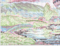 """Gallery.ru / Chart3 - """"Desfile de Globos"""" (""""Resplandor del globo"""") - f-morgan"""