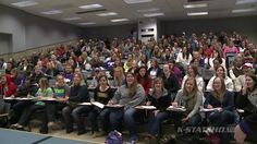 K-State Athletics - Surprise Class Takeover