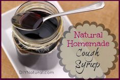 Natural cough remedies, made at home using simple and natural ingredients like elderberries, can be made into a simple cough syrup to take at the first sign of a cough!