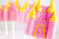 12 Princess Castle Chocolate Lollipops. $18.95, via Etsy.
