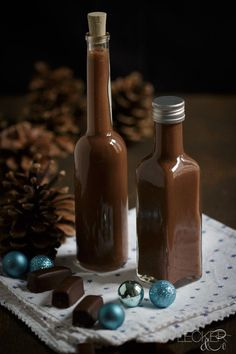 Schokoladen-Toffe-Likör - LECKER&Co | Foodblog aus Nürnberg