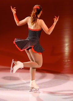 Princess Alexandra von Hannover, daughter of Caroline de Monaco performs at the Ice Gala in Bolzano, Italy on 29.12.2014.