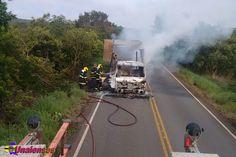 UNAIENSES: OLHOS D'ÁGUA-MG - Caminhão de feijão pega fogo na ...
