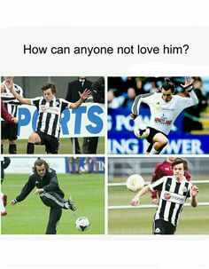 When i try to Play Football it looks exactly the same. But he is a Boy and that make him just mir adorable.