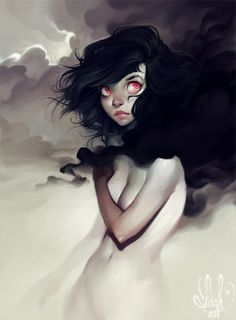 dark clouds by loish illustration digital painting art artwork surreal
