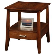 Leick Delton Storage End Table with Drawer - 10407