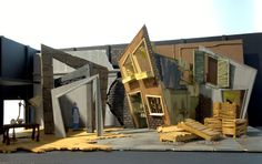 A Set Design by Jacqui Hudson, 2010 (Sydney Institute of TAFE, from their website)
