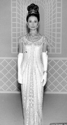 cecil beaton' my fair lady' audrey hepburn' ballgown
